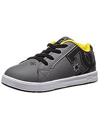 DC Court Graffik Elastic UL Shoes Skate Shoe (Toddler)