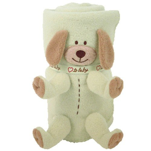 Ty Snooziepup Collection Babay Blanket-mint green Adorable!