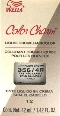 Wella Color Charm Liquid #0356 Cinnamon Brown Haircolor (Case of 6)
