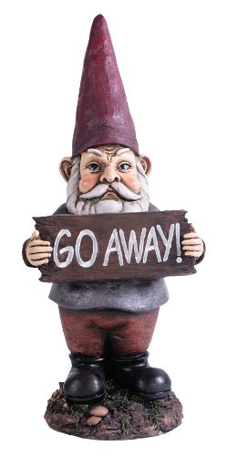 Gnomes for Homes Midi Go Away Gnome