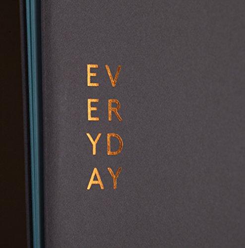 """nuuna Design Notizheft """"3-in-1 Journal Everyday"""" Leporello, Softcover, Buchbinderclip"""