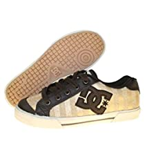 DC Shoes Chelsea Girls Shoes Dk.Chocolate/Met.Gold