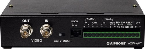 Aiphone Axw-Avt Audio/ Video Transmitter For Ax Series Integrated Audio & Video Security System front-845988