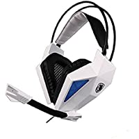 Wired Gaming Headset With Microphone,Sades 709 3.5mm Stero Over Ear PC Headphone For PC Macbook Laptop Notebook...