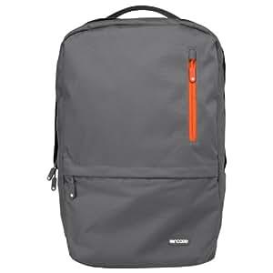 Incase CL55376 Nylon Campus Backpack (Dark Grey/Red Orange)