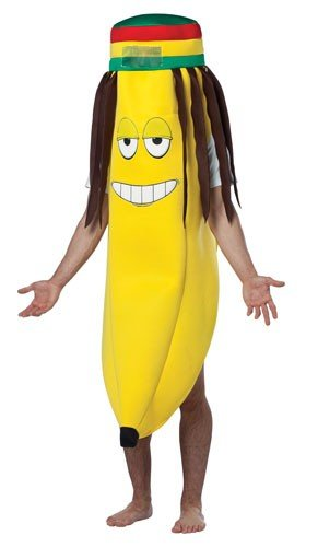 Adult Rasta Banana Costume