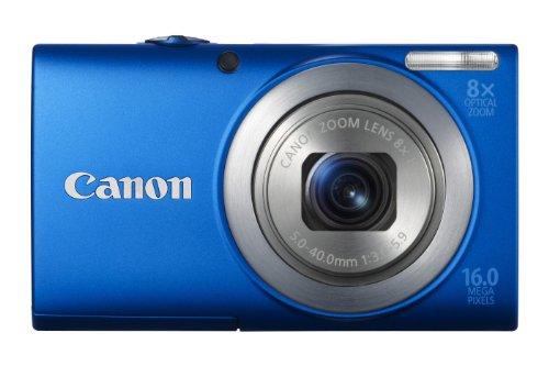 Canon PowerShot A4000 IS Digital Camera - Blue