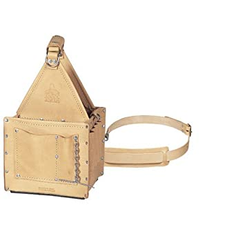 Ideal Industries Tuff-Tote Ultimate Standard Leather Tool Carrier with Shoulder Strap