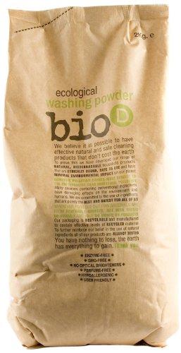 Bio-d Washing Powder 2 kg (Pack of 2)