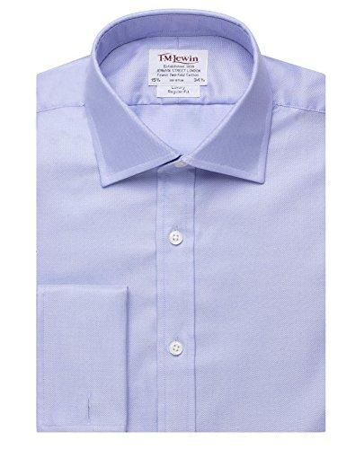 tmlewin-camicia-classiche-basic-classico-maniche-lunghe-uomo-blu