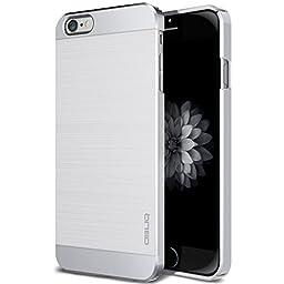 iPhone 6S Plus Case, OBLIQ [Slim Meta] [Satin Silver] Premium Slim Fit Thin Armor All-Around Shock Resistant Polycarbonate Metallic Case for Apple iPhone 6S Plus (2015) & iPhone 6 Plus (2014)