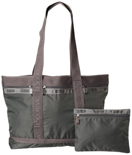 LeSportsac Medium Travel Tote,Zinc,One Size