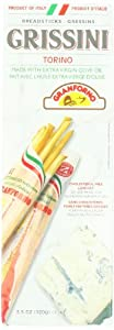 Granforno Grissini Breadsticks, Torino, 3.5-Ounce Boxes (Pack of 12)