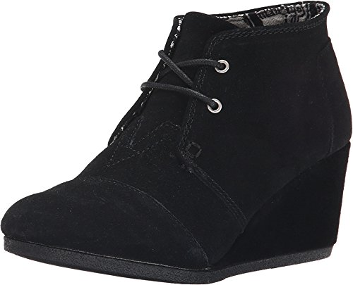 toms-womens-desert-wedge-boot-black-suede-size-8
