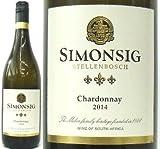 [Simonsig] シモンシッヒ、シャルドネ 2014 南アフリカ(白)750ml
