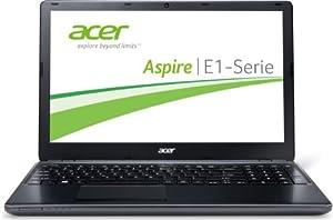 Acer Aspire E1-570-33214G50Mnkk 39,6 cm (15,6 Zoll) Notebook (Intel Core i3 3217U, 1,8GHz, 4GB RAM, 500GB HDD, Intel HD 4000, kein Betriebssystem) schwarz