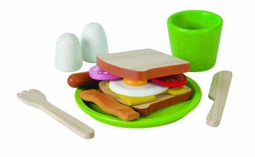 Plan Toys Activity Breakfast Menu Playset Toy, Kids, Play, Children front-723803