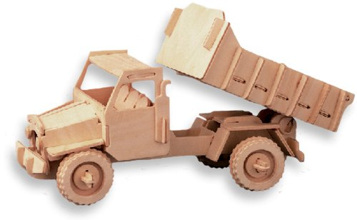 Cheap All4LessShop 3-D Wooden Puzzle – Dump Truck -Affordable Gift for your Little One! Item #DCHI-WPZ-P026 (B004QDTK3U)