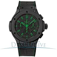 Hublot All Black and Green Carat Mens Watch 301CI1190GRABG11 by Hublot
