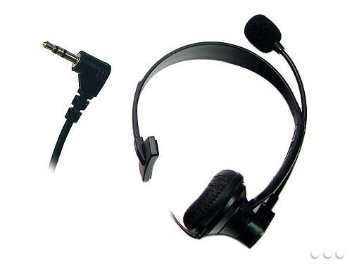 Cellet Universal Mono 2.5Mm Hands-Free Headset With Boom Microphone