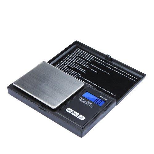 KKMOON Haute précision numérique de poche électronique Mini Balance bijoux pesant Balance Portable 500g / 0,1 g Counting Function bleu LCD g/tl/oz/ct