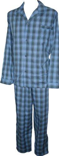 Espionage Traditional Checked Long Pyjamas PJ020