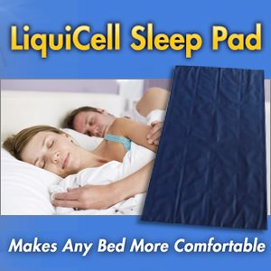 Liquicell Sleep Pad Mattress Topper/Overlay