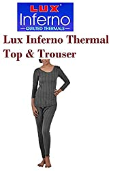 Lux Inferno Ladies Thermal 3/4 sleeves Long Top & Slim Lower (size-90)