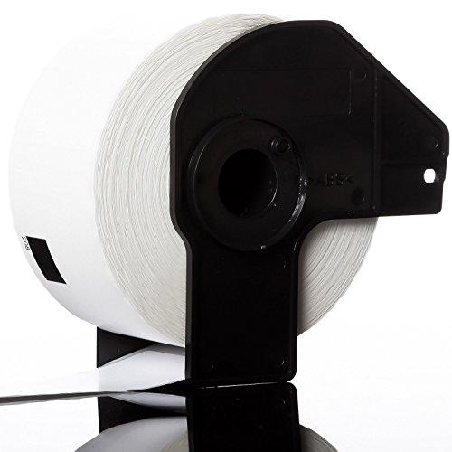 Rouleau Etiquette x20 eTrader Adresse Blanche avec Support Compatible DK11208 pour Brother QL Imprimante Etiquette 38*90mm - 400 Etiquettes par Rouleau