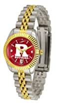 "Rutgers Scarlet Knights NCAA AnoChrome ""Executive"" Ladies Watch"