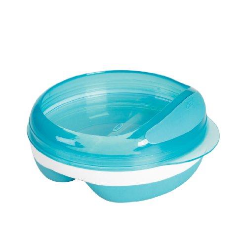 OXO Tot Divided Feeding Dish, Aqua