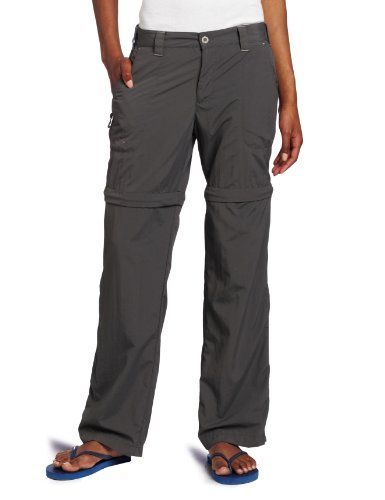 White Sierra Women's Sierra Point 31-Inch Inseam Convertible Pant, Small, Caviar (Women Convertible Pants compare prices)