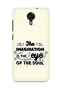 Amez The Imagination is the Eye of the Soul Back Cover For Micromax Canvas Xpress 2 E313