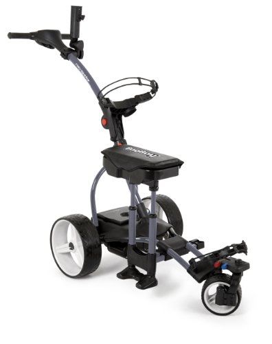 Bag Boy Navigator Elite Electric Cart, Dark Gray