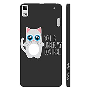 Lenevo 7000 Under My Control designer mobile hard shell case by Enthopia