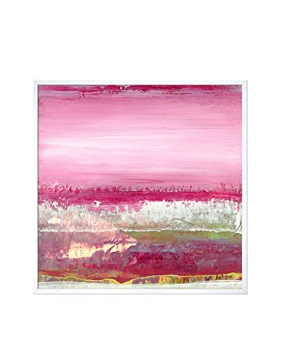 Lisa Carney'S Geo Horizon 20 Framed Print On Canvas