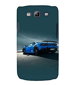 printtech Superfast Car Back Case Cover for Samsung Galaxy S3 Neo / Samsung Galaxy S3 Neo i9300i