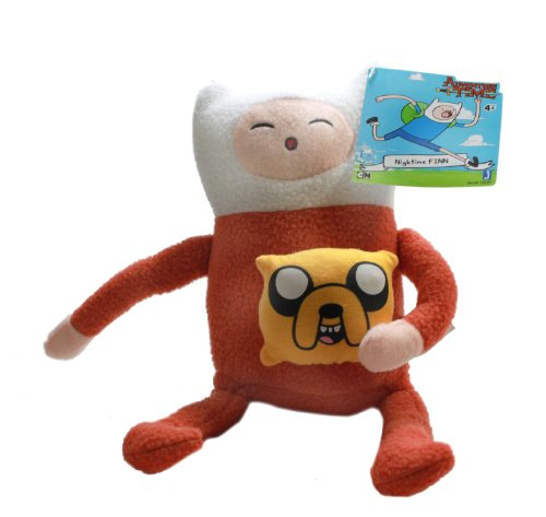"Jazwares Adventure Time 10"" Plush Finn in Pajamas - 1"