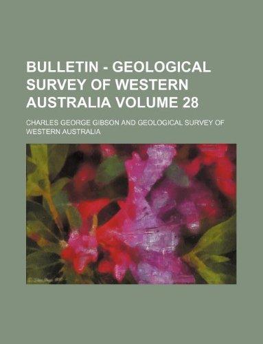 Bulletin - Geological Survey of Western Australia Volume 28