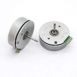 2pcs 4 wire 3 phase Brushless motor dc Micro motor dia 29mm for diy wind turbine generator water generator