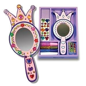 Melissa & Doug Wooden Princess Mirror - DYO