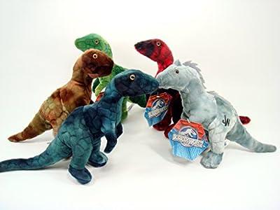 "Jurassic World - 5 Piece 12"" Dinosaur Plush Set"