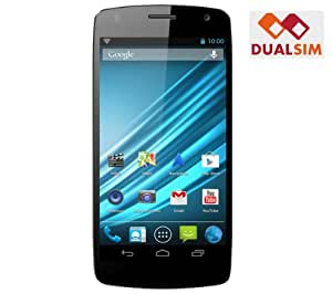 LOGICOM S504 - noir - 4 Go - Smartphone dual SIM + Carte microSDHC 32 Go High Speed Class 10 + mini lecteur USB 2.0