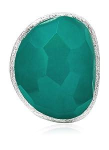Lola Rose Boutique 'Rex' Teal Quartzite Ring Size Medium - Size M 1/2
