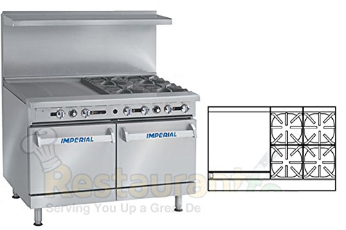 Imperial-Commercial-Restaurant-Range-48-With-4-Burners-24-Griddle-2-Standard-Ovens-Nat-Gas-Ir-4-G24