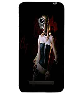 ASUS ZENFONE 5 ACTION GIRL Back Cover by PRINTSWAG