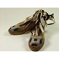 Burberryバーバリーチェック柄サンダルシューズ靴38【並行輸入品】 [ウェア&シューズ]