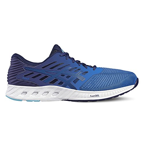 Asics Fuzex Scarpe da corsa su strada allenamento, Uomo, Blu (Indigo Blue/Indigo Blue/Thunder Blue), 43.5