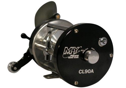 Ming Yang Baitcasting Fishing Reel CL-90A, Gunsmoke