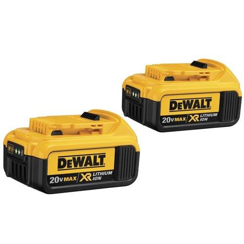 DEWALT DCB204-2 20V Max Premium XR Li-Ion Battery, 2-Pack primary